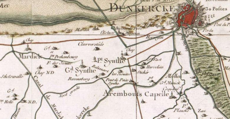 1758 - carte Cassini
